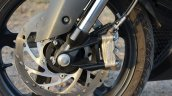 TVS Apache RR 310 Black detailed review front brake