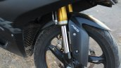 TVS Apache RR 310 Black detailed review front suspension