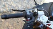 TVS Apache RR 310 Black detailed review left switchgear