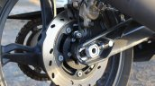 TVS Apache RR 310 Black detailed review rear brake