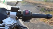 TVS Apache RR 310 Black detailed review right switchgear