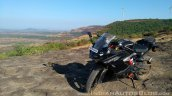 TVS Apache RR 310 Black detailed review scenic shot close
