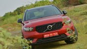 Volvo XC40 review front angle