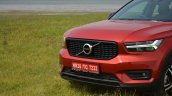Volvo XC40 review nose section view