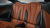 2018 BMW 8 Series Coupe rear seats