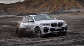 2018 BMW X5 (BMW G05) front three quarters off-roading leaked image