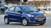 2018 Ford Figo hatchback front three quarters
