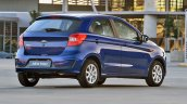 2018 Ford Figo hatchback rear three quarters