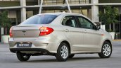 2018 Ford Figo sedan (2018 Ford Aspire) rear three quarters