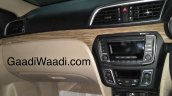 2018 Maruti Ciaz (facelift) interior spy shot
