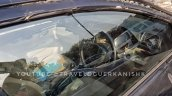 2018 Maruti Ciaz facelift interior spy shot