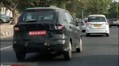 2018 Maruti Ertiga petrol spy shot rear angle view