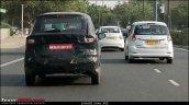 2018 Maruti Ertiga petrol spy shot rear