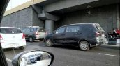 2018 Maruti Ertiga petrol spy shot