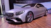 2018 Mercedes-AMG S 63 Coupe front angle