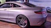 2018 Mercedes-AMG S 63 Coupe tail
