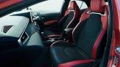 2018 Toyota Corolla Hatchback (Toyota Corolla Sport) front seats