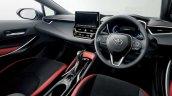 2018 Toyota Corolla Hatchback (Toyota Corolla Sport) interior dashboard