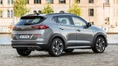 2019 Hyundai Tucson (facelift) rear three quarters