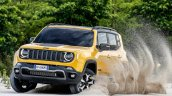 2019 Jeep Renegade Trailhawk action shot front