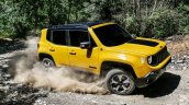 2019 Jeep Renegade Trailhawk action shot side