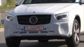 2019 Mercedes GLC facelift spy shot nose