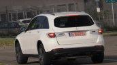 2019 Mercedes GLC facelift spy shot rear