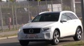 2019 Mercedes GLC facelift spy shot