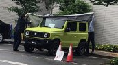 2019 Suzuki Jimny showcased side angle