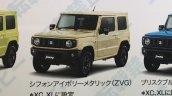 2019 Suzuki Jimny variants