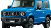 All-new 2019 Suzuki Jimny Brisk Blue