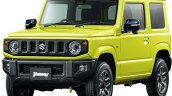 All-new 2019 Suzuki Jimny Kinetic Yellow