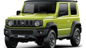 All-new 2019 Suzuki Jimny front three quarters