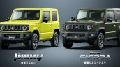 All-new Suzuki Jimny and Suzuki Jimny Sierra
