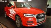 Audi Q3 Design Edition front three quarters