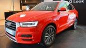 Audi Q3 Design Edition left front three quarters