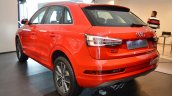 Audi Q3 Design Edition rear three quarters