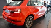 Audi Q3 Design Edition right rear three quarters