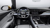 Audi Q8 interior dashboard driver side