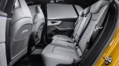 Audi Q8 interior rear seats