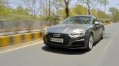 Audi S5 review front action shot