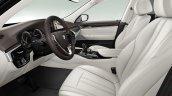 BMW 6 Series Gran Turismo Luxury Line (BMW 630d) front seats