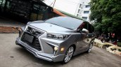 Custom Toyota Innova with Lexus look front angle