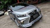 Custom Toyota Innova with Lexus look front three quarters