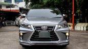 Custom Toyota Innova with Lexus look front