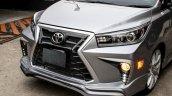 Custom Toyota Innova with Lexus look nose