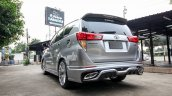 Custom Toyota Innova with Lexus look rear three quarters