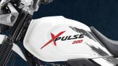 Hero Xpulse 200 fuel tank design