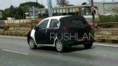 Hyundai AH2 (new Hyundai Santro) spy shot rear