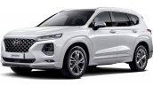 Hyundai Santa Fe Inspiration front three quarters